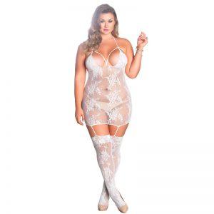 Leg Avenue Strappy Suspender Dress UK 16 to 18