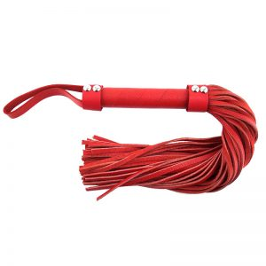 Rouge Garments Red Leather Flogger