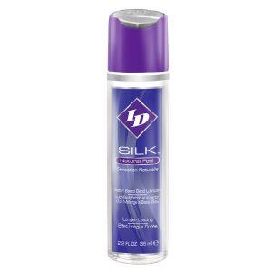 ID Silk Natural Feel Water Based Lubricant 2.2floz/65mls