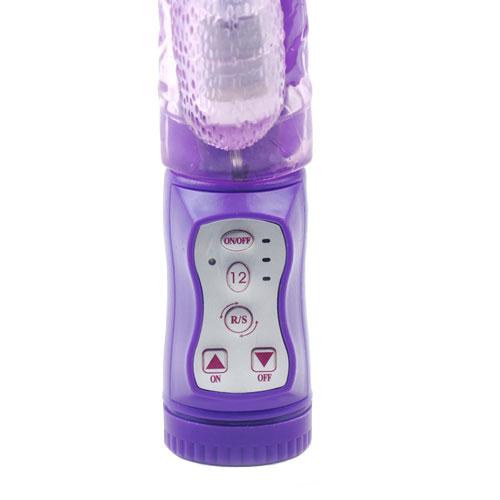 Multi Function Rabbit Vibrator Purple