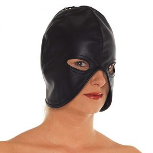 Leather Head Mask