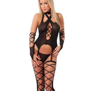 Camisole Set With Stockings
